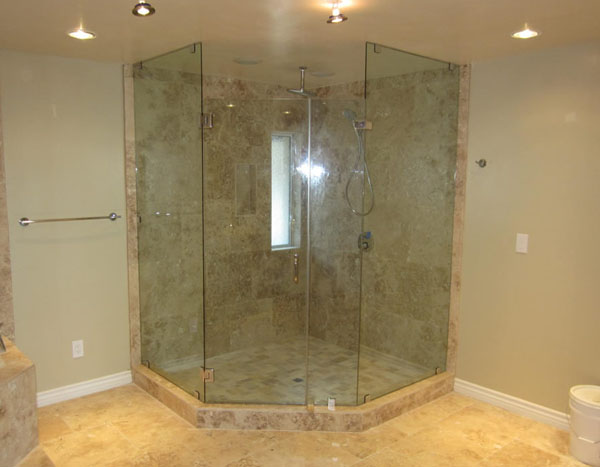 Enduroshield glass shower protective treatment clayton 39 s glass company amarillo texas - Shower glass protection ...